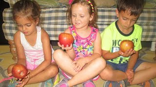 Making Observations: Five Senses with Apples